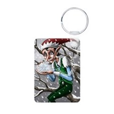 jack frost Aluminum Photo Keychain