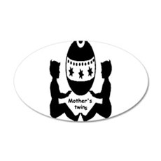 Mothers Twins Wall Decal