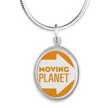 mp-sticker-2 Silver Oval Necklace