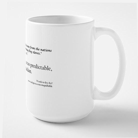 Final canadian slave Large Mug