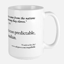 Final canadian slave Mug