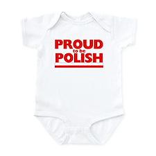 PROUD POLISH Infant Bodysuit