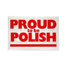 PROUD POLISH Rectangle Magnet