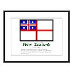 1835 Flag Large Framed Print