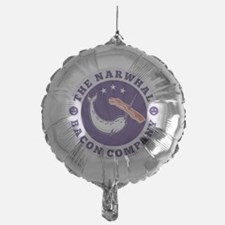 the narwhal whale bacon company Mylar Balloon
