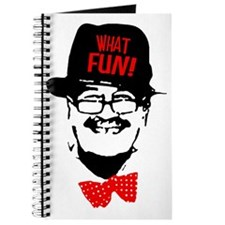 what fun red Journal
