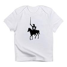 Hospitaller Black Infant T-Shirt