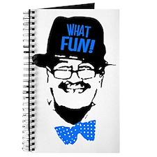 what fun blue Journal