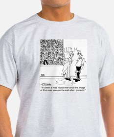 6334_painter_cartoon T-Shirt
