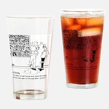 6334_painter_cartoon Drinking Glass