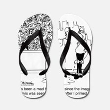 6334_painter_cartoon Flip Flops