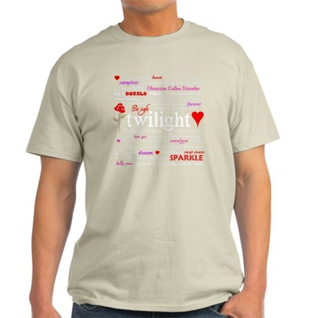 Twilight Quotes -dk Light T-Shirt