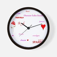 Twilight Quotes -dk Wall Clock