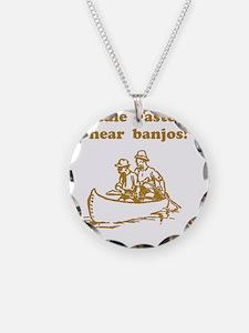 Dry Hear Banjos Brown Necklace