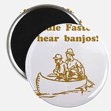 Dry Hear Banjos Brown Magnet
