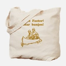 Dry Hear Banjos Brown Tote Bag