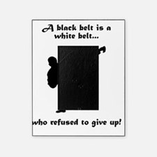 Dry Black Belt Refusal Black Picture Frame