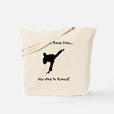 Dry In Range Black Tote Bag