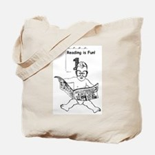 Reading is fun 1 Tote Bag