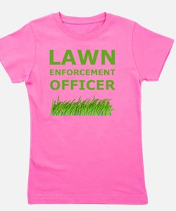 Dry Lawn Offier Green Girl's Tee