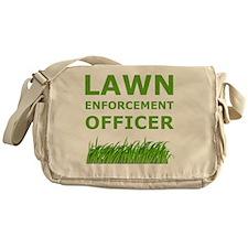 Dry Lawn Offier Green Messenger Bag