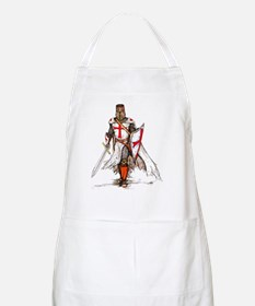 Dry Templar Knight Red Apron