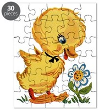 Duck and Flower Puzzle