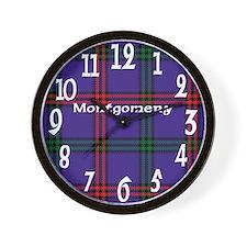 Montgomery Clan Wall Clock