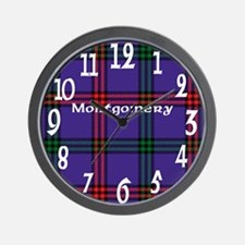 Montgomery Clan Wall Clock