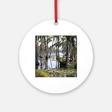 swamp Round Ornament