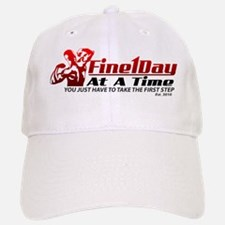 Fine 1 Day At A Time Est 2010_14667 Baseball Baseball Cap