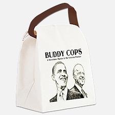 Obama Biden Buddy Cops Canvas Lunch Bag