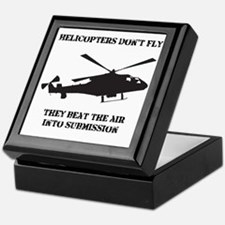 Dry Helicopter Submission Black Keepsake Box