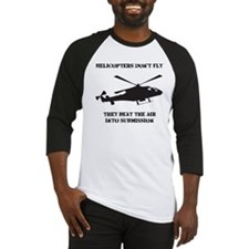 Dry Helicopter Submission Black Baseball Jersey