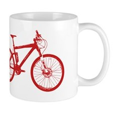 Dry Mountain Bike Red Mug
