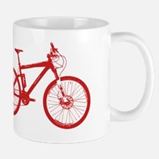 Dry Mountain Bike Red Mug