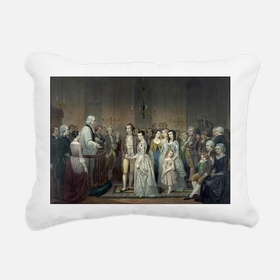 14x10_largeFramedprint_w Rectangular Canvas Pillow