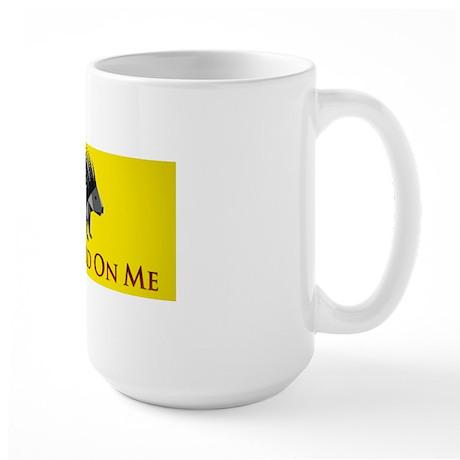 Dont banner Large Mug