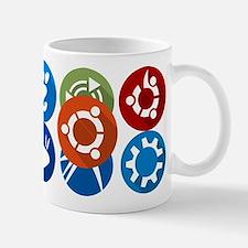 ubuntu distros Mugs