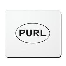 Knitting - Purl Mousepad