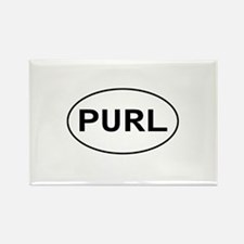 Knitting - Purl Rectangle Magnet