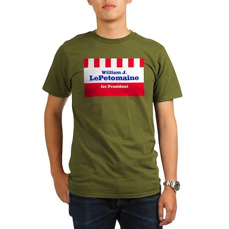 LePETOMAINE FOR PRESIDENT Ash Grey T-Shirt