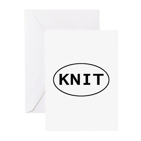 KNIT Greeting Cards (Pk of 10)