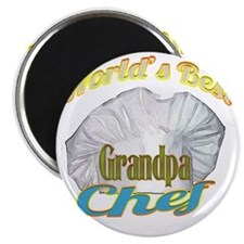 WORLDS BEST GRANDPA / CHEF Magnet
