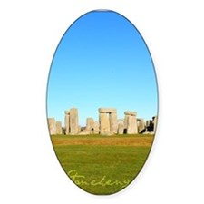 Stonehenge Poster Decal