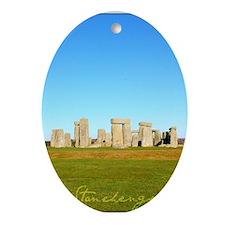 Stonehenge Poster Oval Ornament