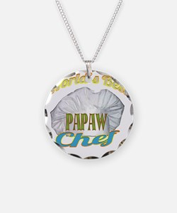 WORLDS BEST PAPAW  CHEF Necklace