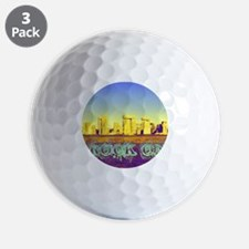 Rock On Stonehenge Golf Ball