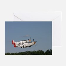 P-51 pair Greeting Cards (Pk of 10)