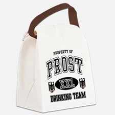 Prost German Drinking Team Canvas Lunch Bag